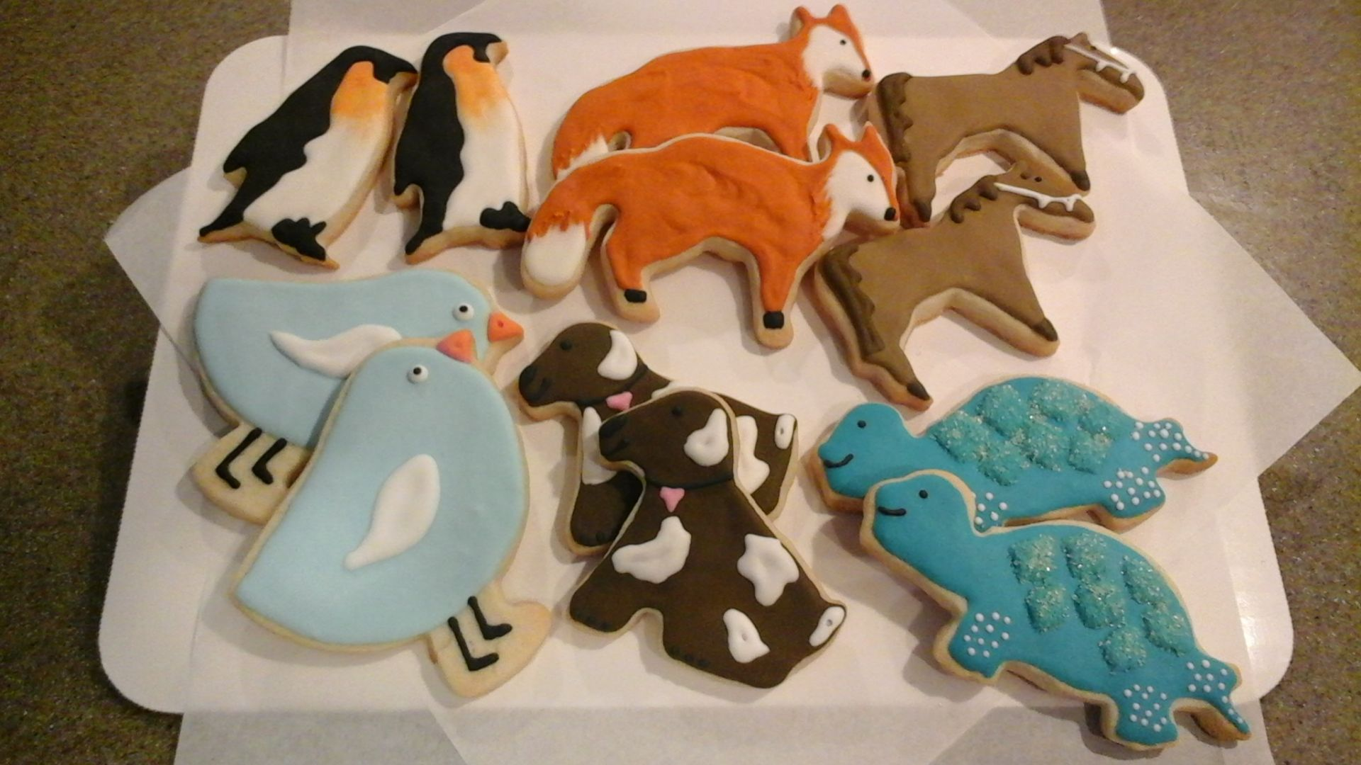 Animal Cookie Cut-Outs